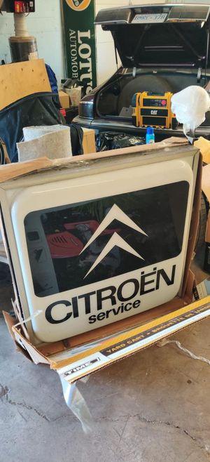 Original Citroen Service sign