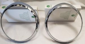 Chrome Headlight Rims/Bezel - Sunbeam Tiger Mark II