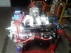 466 cubic inch 550 HP engines...............