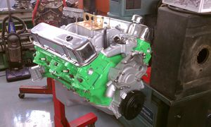 1973 Firebird Trans Am Engine with Transmission