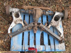 1973 Triumph Stag Complete  Rear End  ASSY.