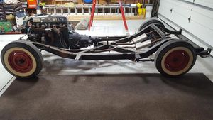 1954 Corvette rolling chassis Motor,Trans, Rearend