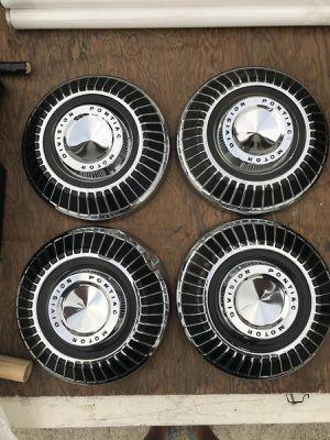 Pontiac hubcaps original