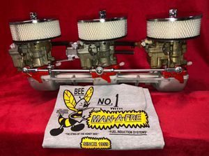 Man-A-Fre 3-Deuce for 292ci Chevy In-Line 6