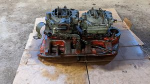 '57, '58 Plymouth original two four barrel carbs
