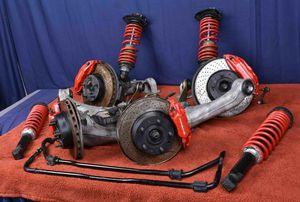 Porsche turbo 3.6 965 Suspension Brakes 964 turbo