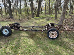 1957 Studebaker Champion Provincial Wagon Chassis