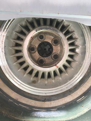 Kelsey Hayes Eldorado Sabre Wheels 1959 - Rare!