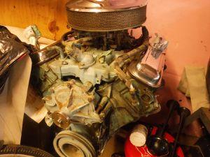 1964 GTO engine