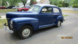 1941 Ford 2dr Sedan  body and chassis