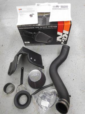 K & N Air filter system.