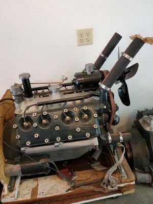 Rebuilt Concourse Correct 1932 Ford V8 motor