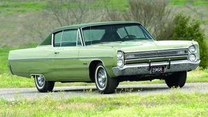 1967-1968 Plymouth Fury III