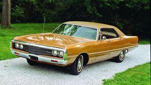 1969-1970 Chrysler Newport and Cordoba
