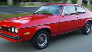 More of ''The Car You Always Promised Yourself'' - 1976-1977 Mercury Capri II