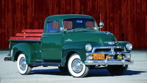 Hauling in High Style - 1947-'55 Chevrolet First Series Advance Design 1/2-ton Trucks