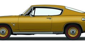 1968 Plymouth Barracuda Formula S 340 and 383