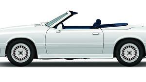 1987-'90 ASC/McLaren Ford Mustang convertible
