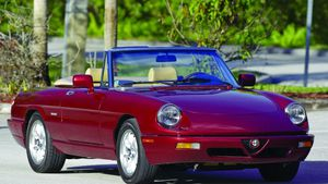Classic Beauty in the Modern Age - 1991-'94 Alfa Romeo Spider