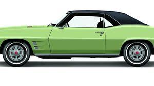 1969 Pontiac Firebird H.O.