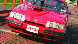 1984-'86 Ford Mustang SVO