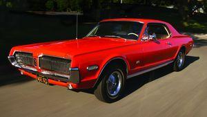 1967-'68 Mercury Cougar