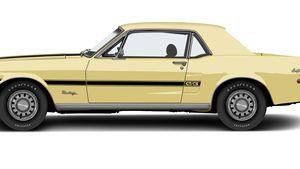 1968 Ford Mustang GT/CS California Special