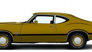 1972 Oldsmobile 4-4-2