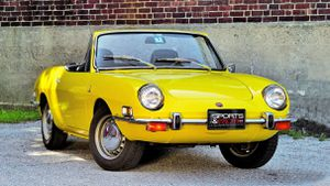 The diminutive Bertone-built Fiat 850 Spider's value is trending up
