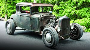 Cruising the Catskills in a 1930 Ford A/V-8 Coupe