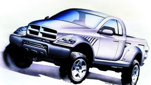 Before the Cybertruck, Dodge's 1999 Power Wagon concept pointed to the future of pickups