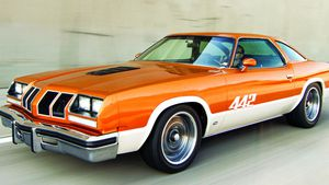 A Restomod '77 Oldmobile 442 That Fulfills A Dream Deterred