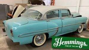 Somebody stop a grown man from crying by picking up the torch on this 1954 Chevrolet Bel Air project