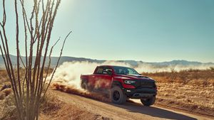 The 702-hp Ram 1500 TRX is as crazy (and good) to drive as you imagine