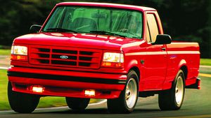 Ford's first-edition 1993-'95 F-150 Lightning factory sport trucks are fun to drive, easy to own