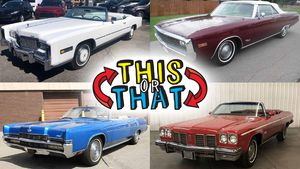 Which one of these four full-size Seventies convertibles would you choose for your dream garage?