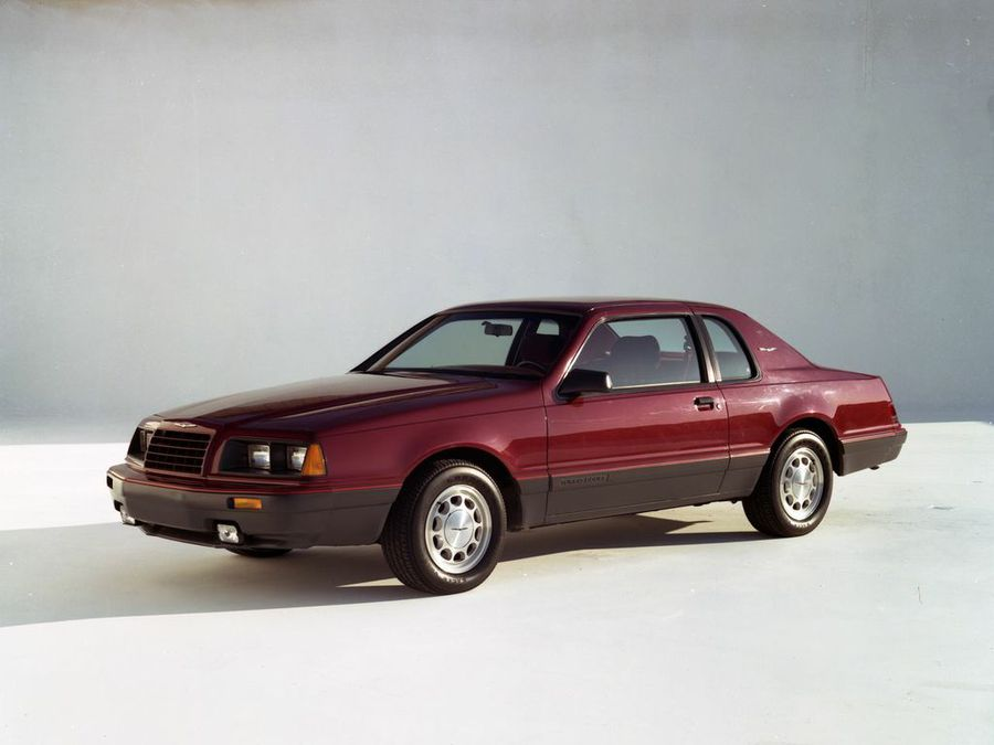 lost cars of the 1980s ford thunderbird turbo coupe hemmings 1980s ford thunderbird turbo coupe