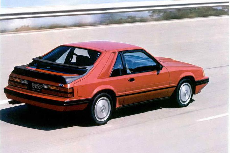 Lost Cars Of The 1980s 1984 1986 Ford Mustang Svo Hemmings
