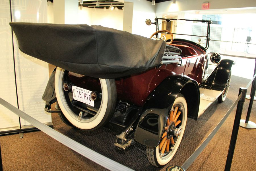 What A 1920 Hupmobile Has To Do With The Founding Of The National