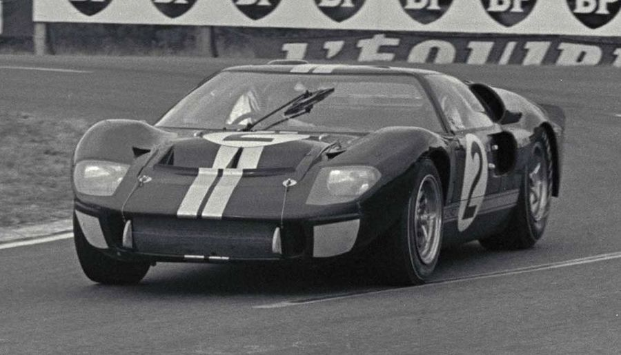 The Ford Gt40 Mk Ii That Shouldn T Have Won Le Mans In 1966 Heads