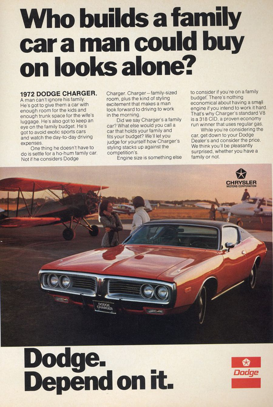 The 1972 Dodge Charger Muscle Car Or Family Car Hemmings