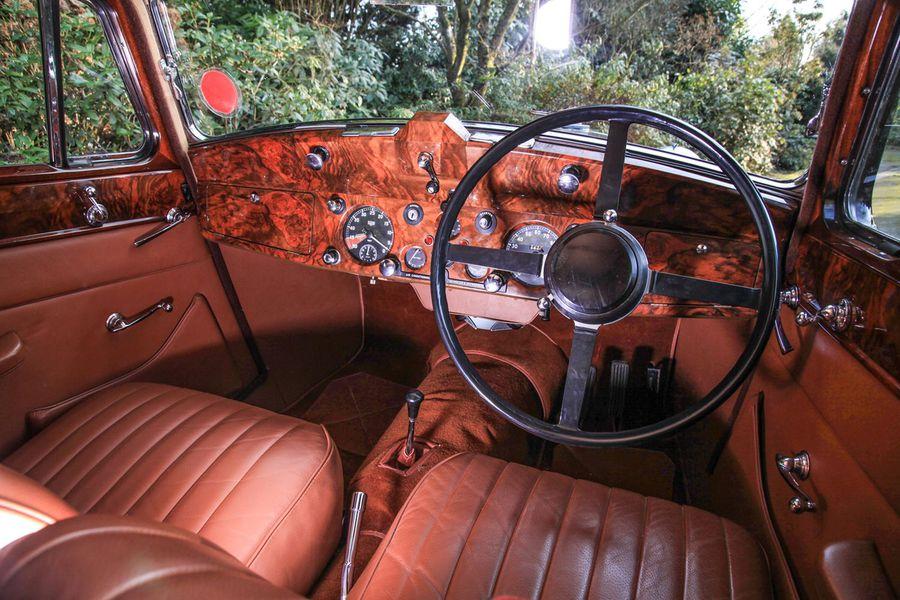 Back Where It Belongs A Veteran Jaguar Executive S 1948 3 1 2 Hemmings