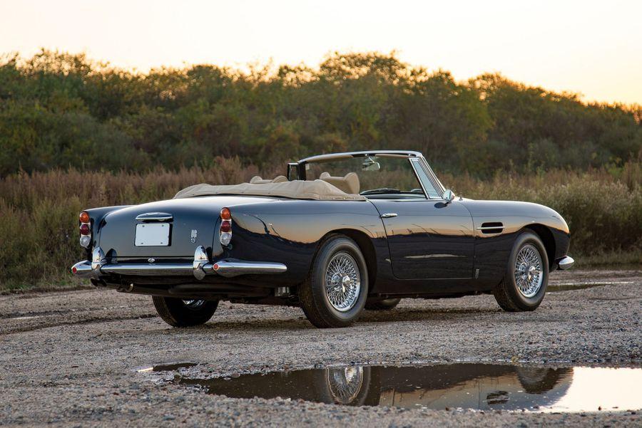 1965 Aston Martin Db5 Convertible Sets Auction Record At Icons Hemmings