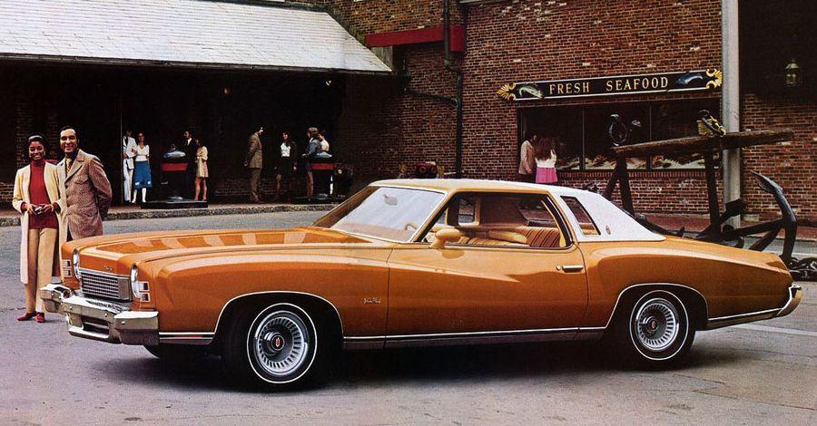 Rare Vintage Full Monte Chevrolet Monte Carlo T-shirt Heat Transfer  NOS