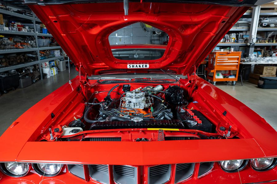 Plymouth Hemi Cuda 1971 Muscle Car Americano