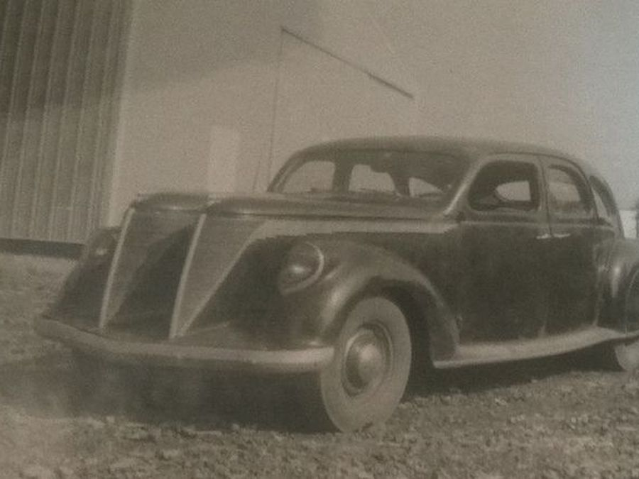 lincoln zephyr twin grille