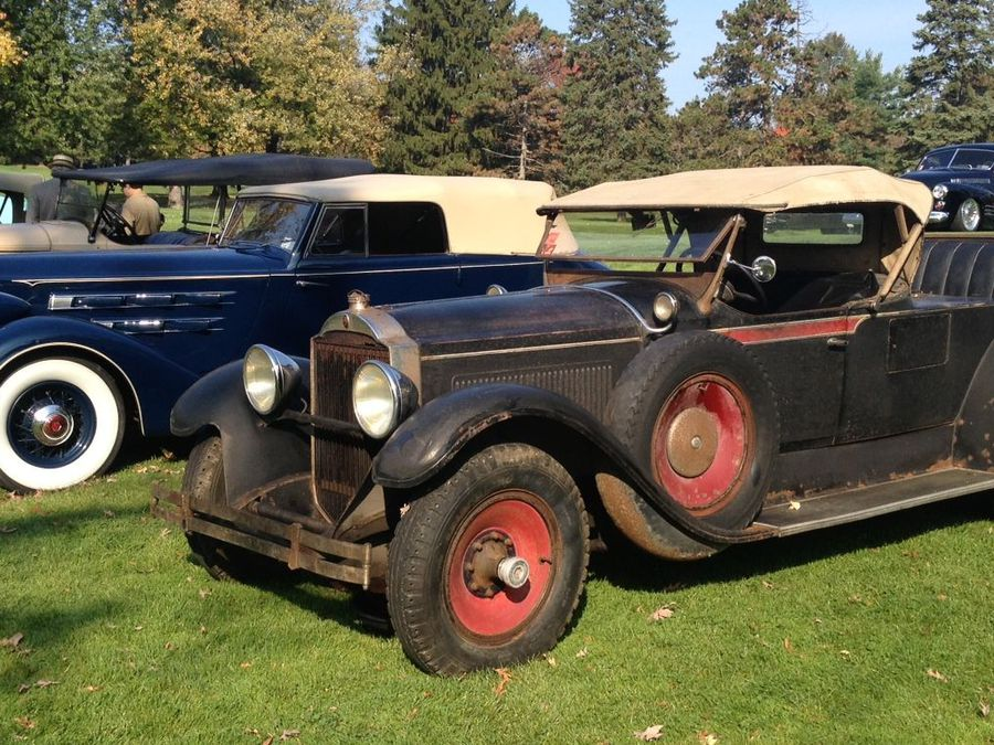 Barn Find 1929 Packard Emerges After 50 Years Wins Best In Show Hemmings