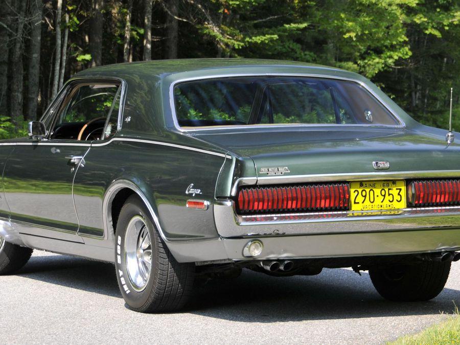 1968 Mercury Cougar XR-7 GT GT-E Vintage Sales Brochure