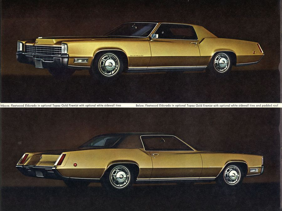 1970 Cadillac Fleetwood Eldorado Sales Brochure