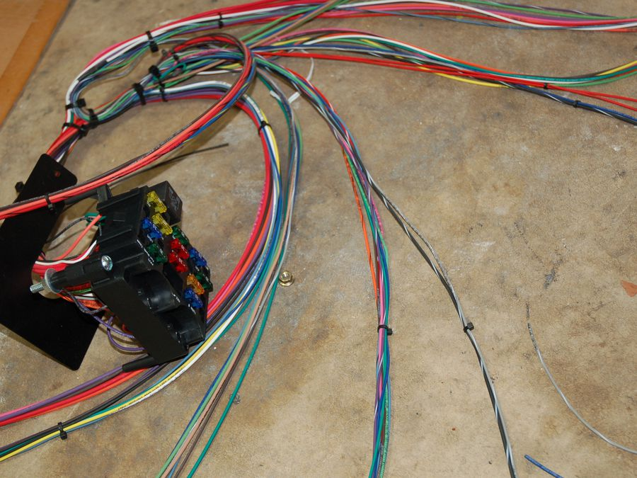 wrap electrical wiring harness in our garage installing a new wiring harness hemmings  installing a new wiring harness